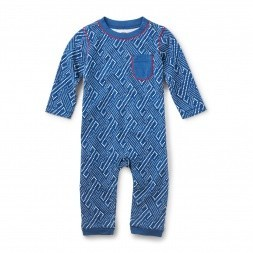 Tea Tea Washi Pocket Romper