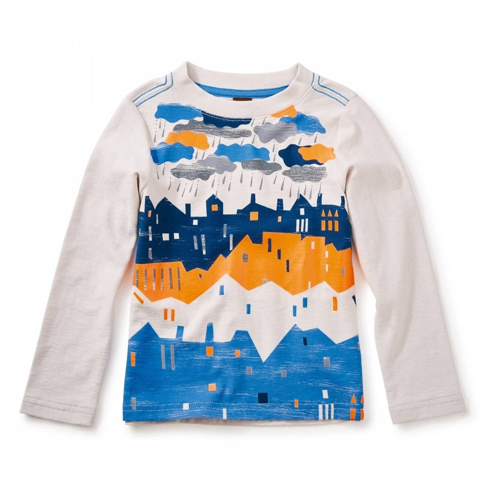 Tea Tea Graphic Tee Boys LS