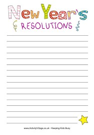 New Year's Resolutions Anyone? (Jan 2018)