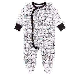 Deux Par Duex Deux Par Duex Footed Pyjama