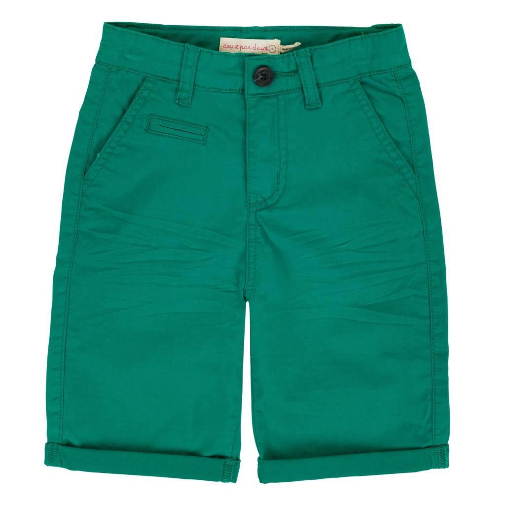 Deux Par Duex Duex Par Duex Green Short