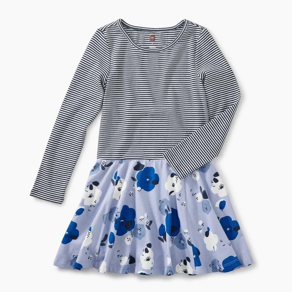 Tea Tea Skirted Dress - Lilac