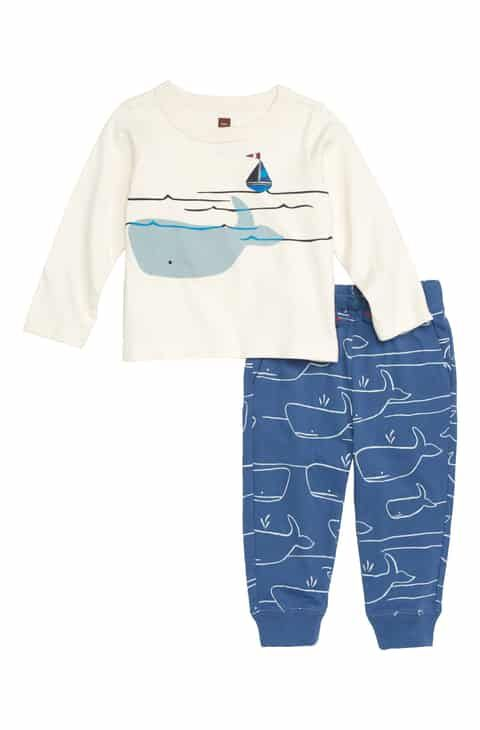 Tea Tea Baby Set - Whale