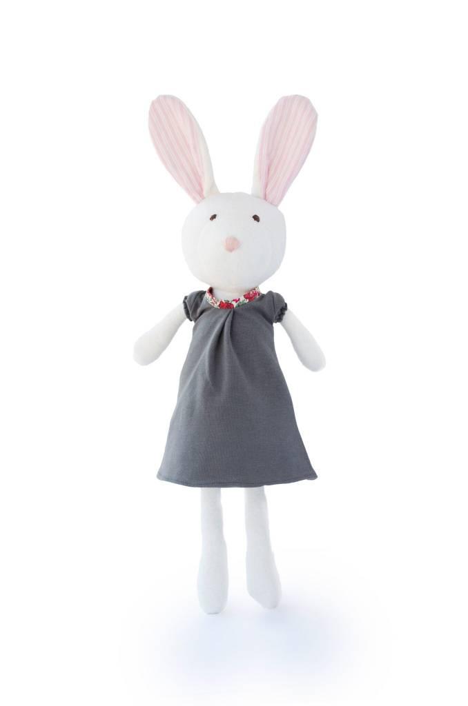 Hazel Village Stuffed Animal Penelope Rabbit Dress