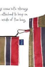 Rockflowerpaper Blu bag Savannah Stripe Magenta