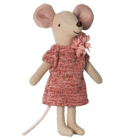 Maileg Mouse Big Sister Winter in Box