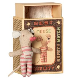 Maileg Mouse Baby Girl in box