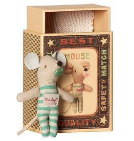 Maileg Mouse Baby Boy in box