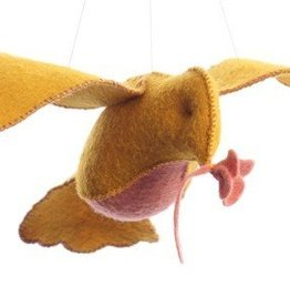 Threadfollower Yellow and Pink Bird in Flight Kit