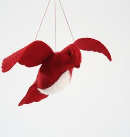 Threadfollower Cranberry Bird in Flight Kit