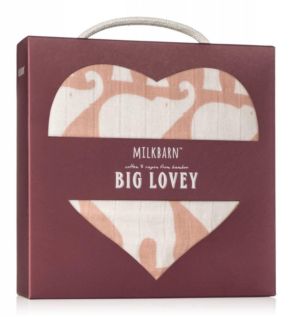 Milkbarn Big Lovey in Rose Elephant
