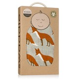 Milkbarn Swaddle Orange Fox
