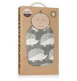 Milkbarn Swaddle Grey Hedgehog