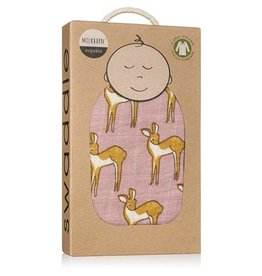 Milkbarn Swaddle Rose Doe