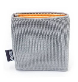 Ideaka Stretch Wallet grey-orange