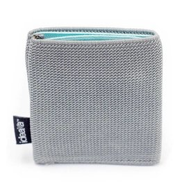 Ideaka Stretch Wallet grey-aqua