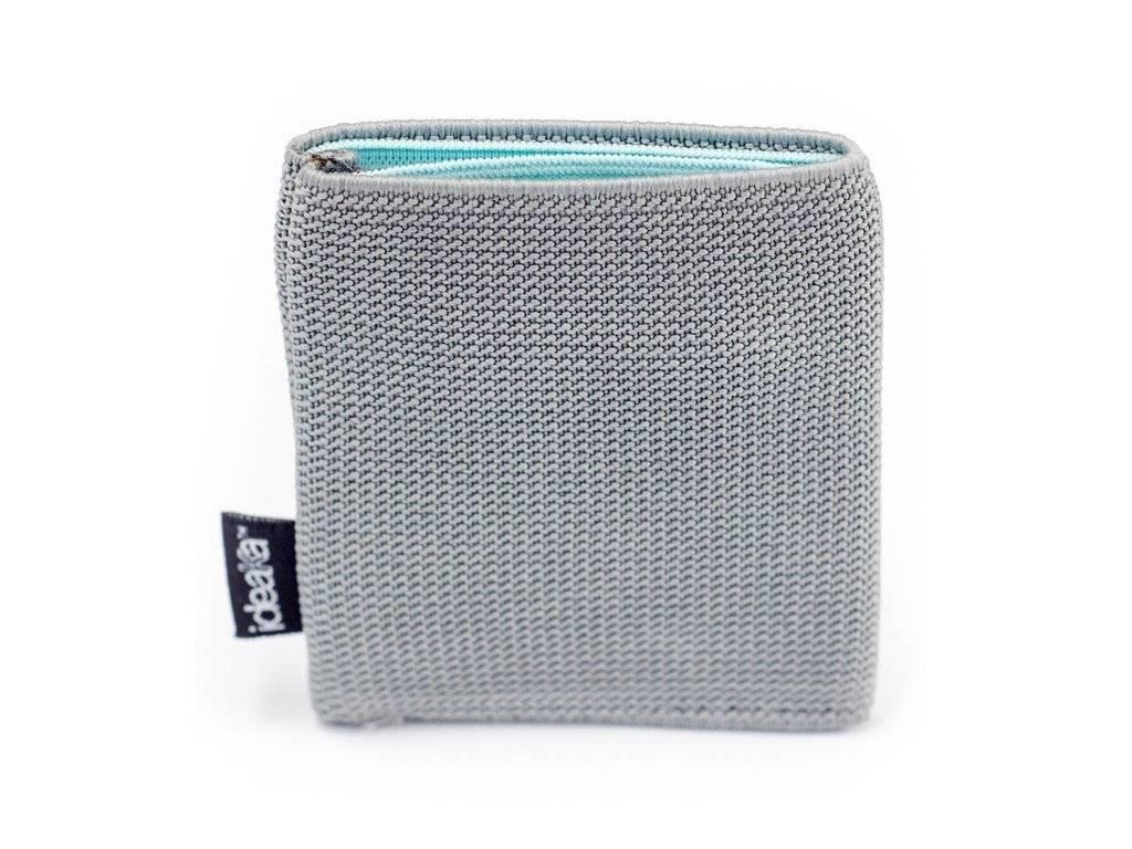Ideaka Stretch Wallet grey-aqua
