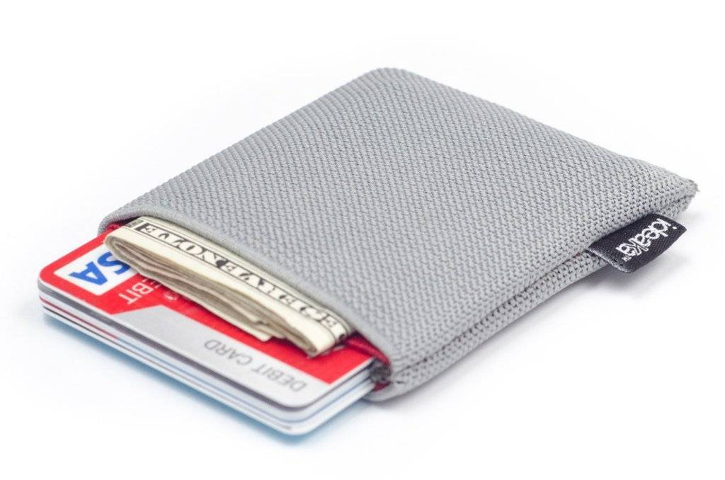 Ideaka Stretch Wallet black-red