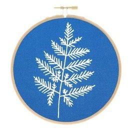 Studio MME Fern Botanical Embroidery Kit