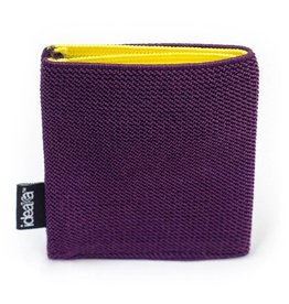 Ideaka Stretch Wallet purple-yellow