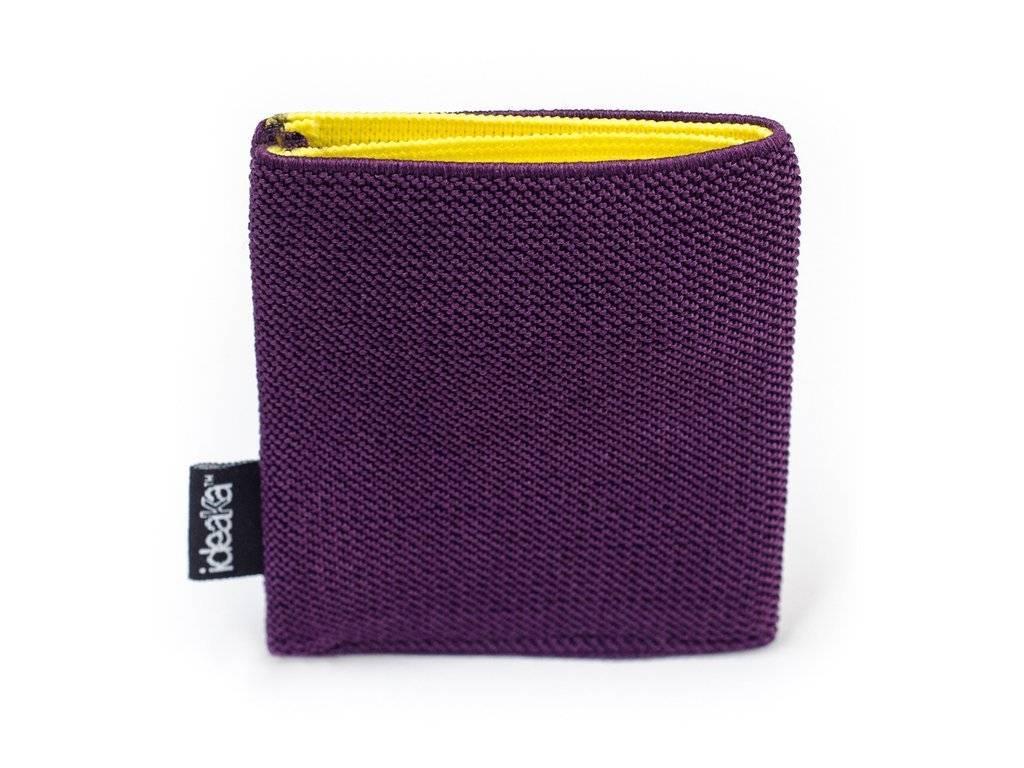 Ideaka Stretch Wallet purple-yellow