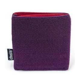 Ideaka Stretch Wallet purple-red