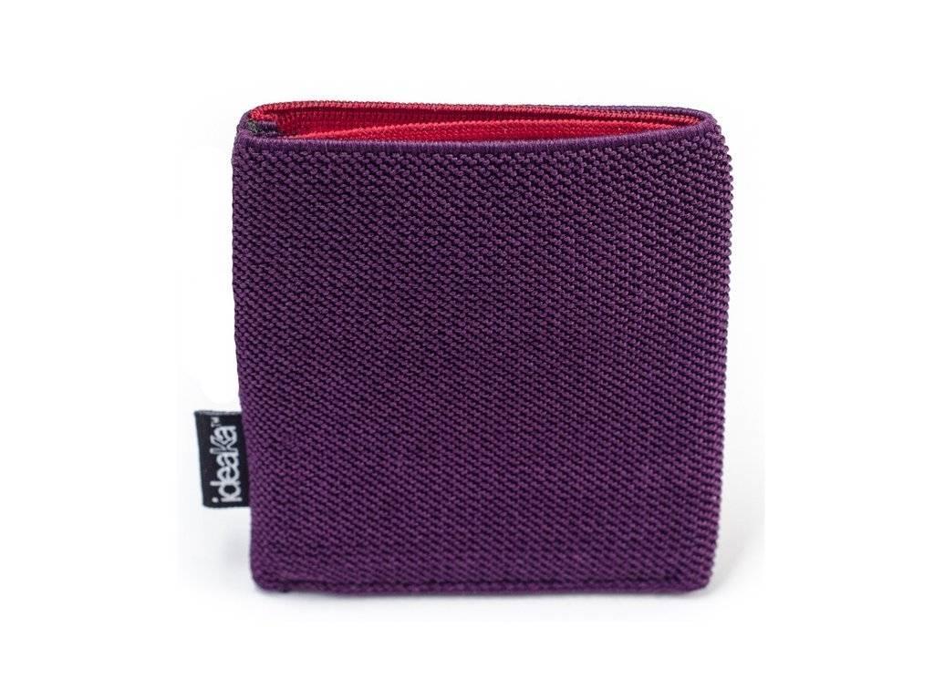 Ideaka Stretch Wallet purple-red