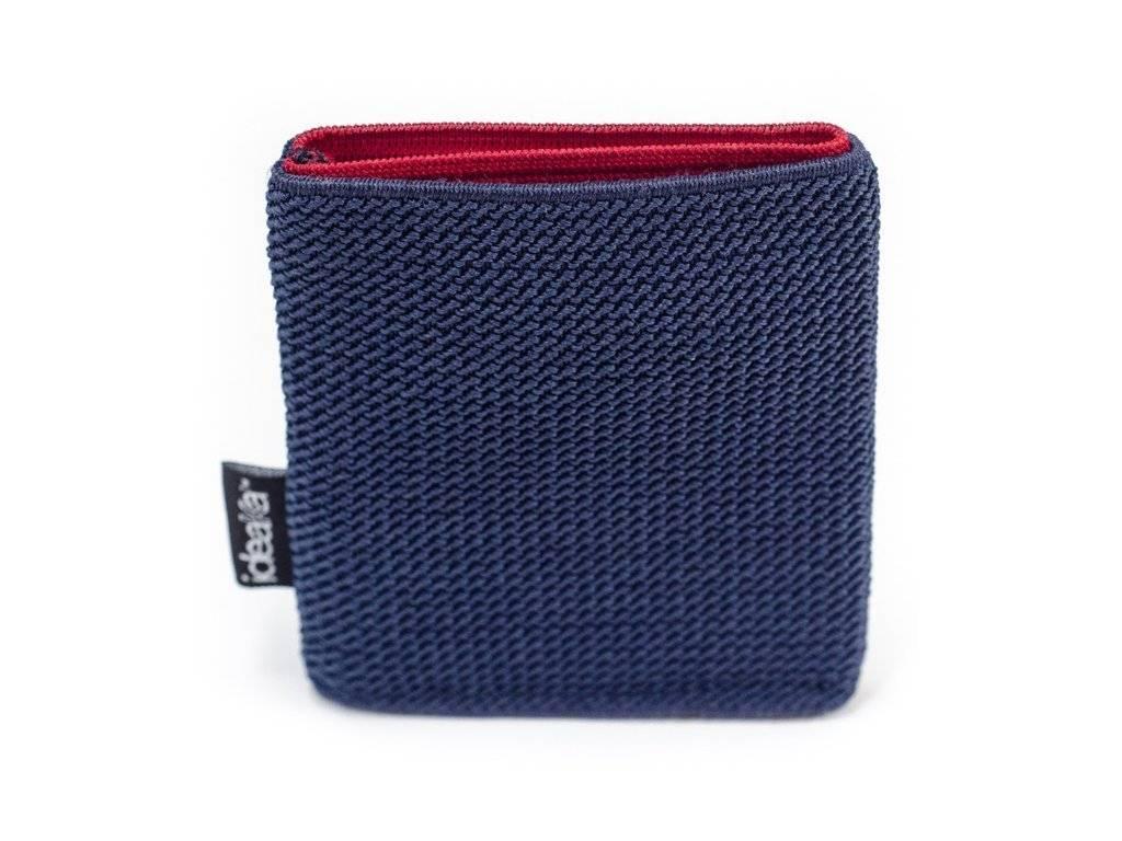 Ideaka Stretch Wallet navy-red