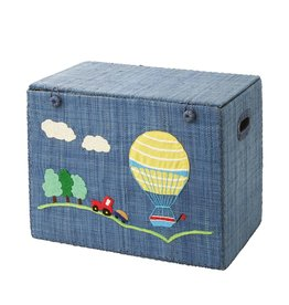 Rice Small Foldable Toy Basket Hot Air Balloon