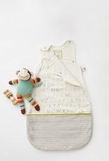Pehr Designs Buntingbag Grey Stripe / Alphabet 0-6M