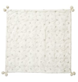 Pehr Designs Little Lamb Quilted Pom Pom Blanket