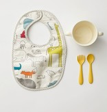 Pehr Designs Bib Set of 2 Noah's Ark and Painted Dots