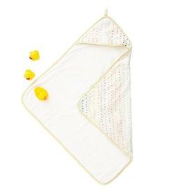 Pehr Designs Hooded Towel Painted Dots