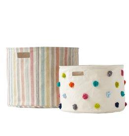 Pehr Designs Drum Medium Rainbow Stripe
