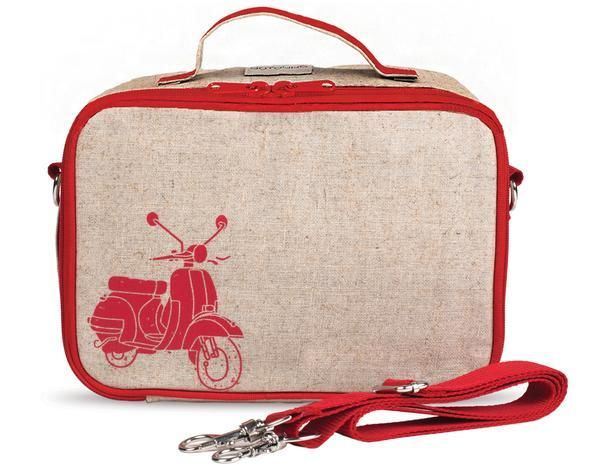 So Young Lunch Box Red Vespa Scooter