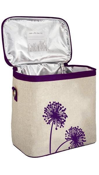 So Young Small Cooler Bag Purple Dandelion