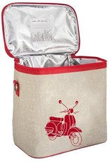 So Young Small Cooler Bag Red Vespa Scooter