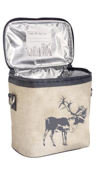 So Young Large Cooler Bag Grey Moose