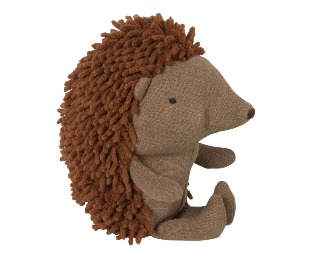 Maileg Little Hedgehog W. Leaf
