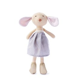 Hazel Village Stuffed Animal Annicke Mouse Amethyst