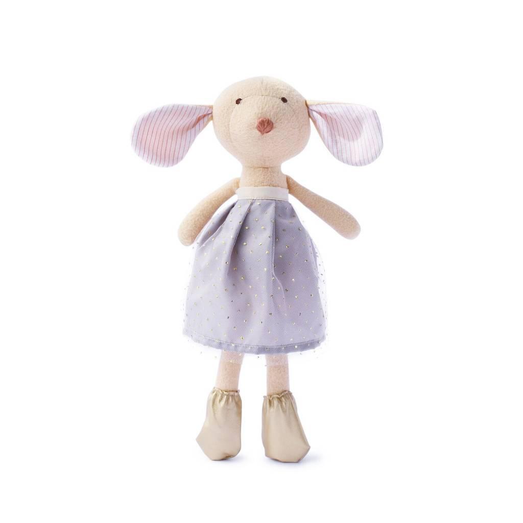 Hazel Village Stuffed Animal Annicke Mouse Amethyst