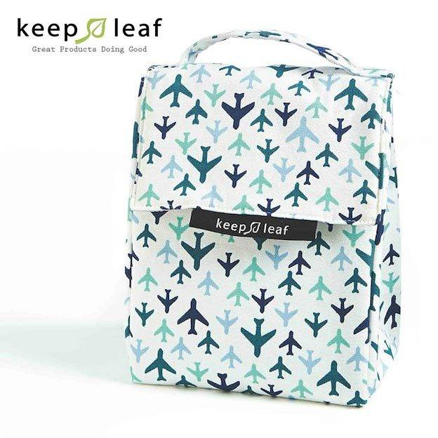Keep Leaf Lunch Bag Planes