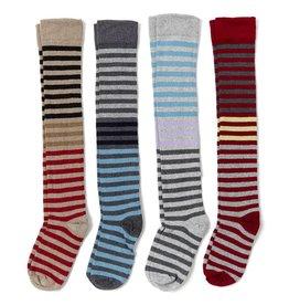 In2Green Over the Knee Socks Stripes