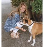 Rockflowerpaper Rayon Henley Tunic Maddie Navy
