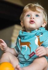 Milkbarn Kerchief Bib in Blue Buck