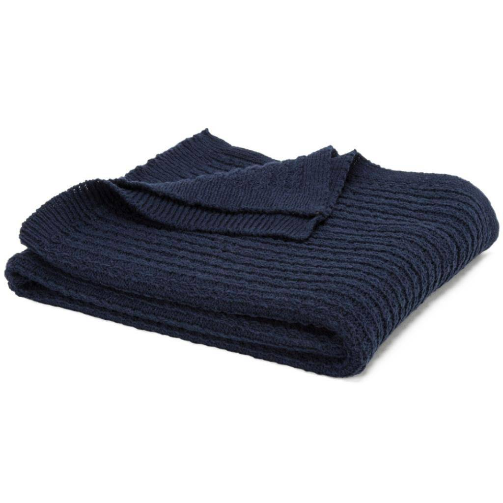 In2Green Small Cable Poncho Marine
