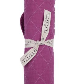 Utility Canvas Quilted Floor Mat Fuchsia