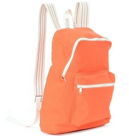 Utility Canvas Classic Backpack Orange