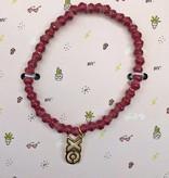 31Bits Love and Friendship Bracelet Bordeaux