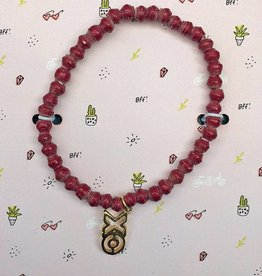 31Bits Love and Friendship Bracelet Bordeaux